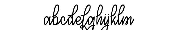 CongratsScript Font LOWERCASE