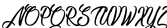 CongratulationFolding Font UPPERCASE