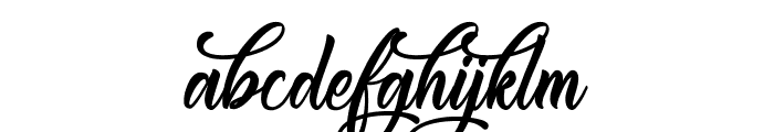 CongratulationFolding Font LOWERCASE