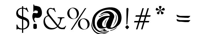 Conjunto de Tipografias Populares Guatemaltecas Font OTHER CHARS