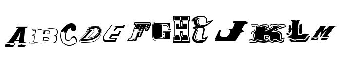 Conjunto de Tipografias Populares Guatemaltecas Font UPPERCASE