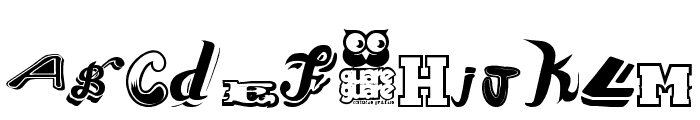Conjunto de Tipografias Populares Guatemaltecas Font LOWERCASE
