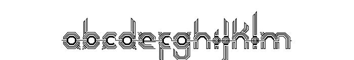 Connexion Font LOWERCASE