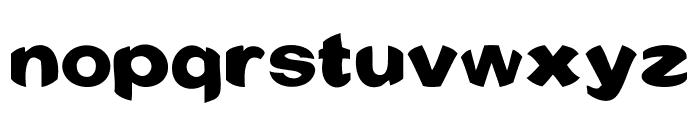 Conquest Font LOWERCASE