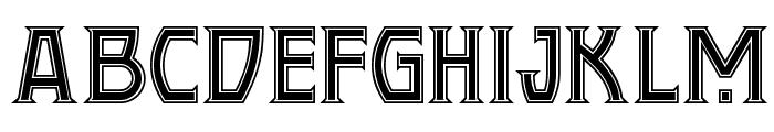 Conquistadorman NF Font UPPERCASE