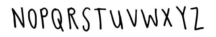Conrad Regular Font UPPERCASE