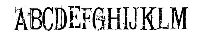 Conrad Veidt Font UPPERCASE