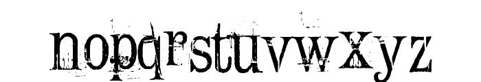 Conrad Veidt Font LOWERCASE
