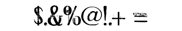 ConradVeidt Font OTHER CHARS