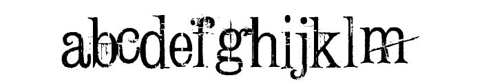 ConradVeidt Font LOWERCASE