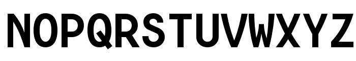 Consola Mono Bold Font UPPERCASE