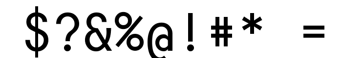 Consola Mono Font OTHER CHARS