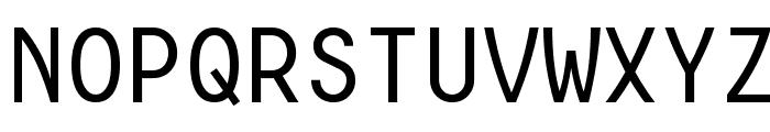 Consola Mono Font UPPERCASE