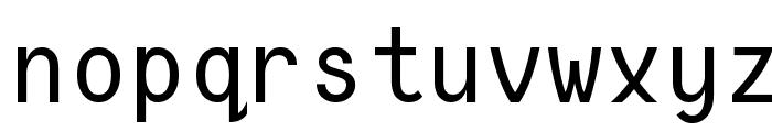 Consola Mono Font LOWERCASE