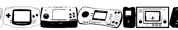 Console Wars Console Yourself Font LOWERCASE