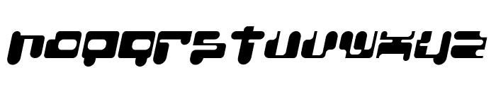 ConsoleRemix Italic Font LOWERCASE