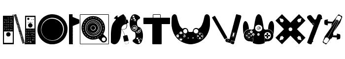 Consolefont Font UPPERCASE