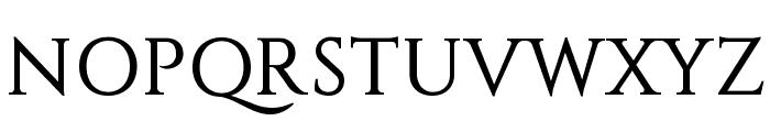 Constantine Font UPPERCASE