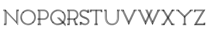 Constrocktion Font UPPERCASE