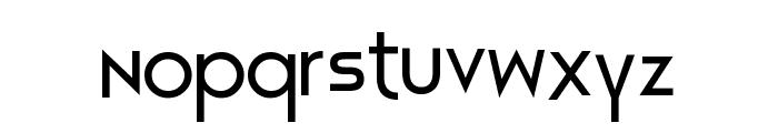 Constructive Buddy Font LOWERCASE