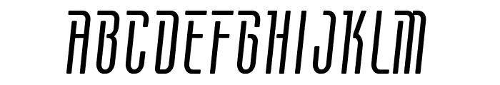 Contactlight Font UPPERCASE