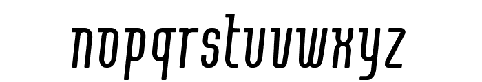 Contactlight Font LOWERCASE