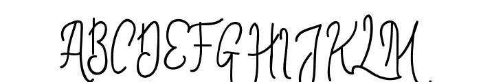 ContentoScript Font UPPERCASE