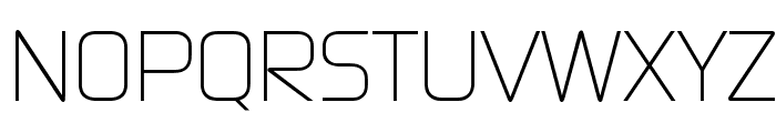 Continuum Light Font UPPERCASE