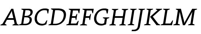 Contra Italic Font UPPERCASE