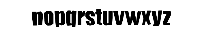 Conundrum FG Font LOWERCASE