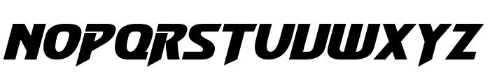 Convoy Bold Italic Font UPPERCASE