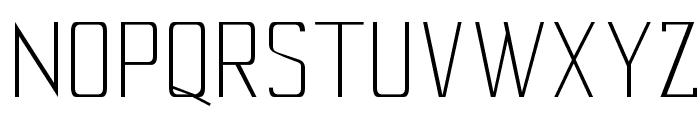 Cony-Light Font UPPERCASE