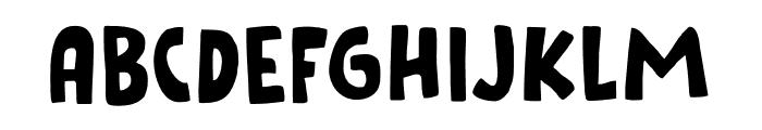 Cookie Crumble DEMO Regular Font UPPERCASE