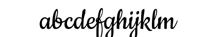 Cookie-Regular Font LOWERCASE