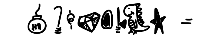 Cookiescream Font OTHER CHARS