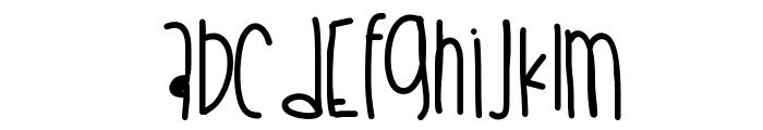 Cookiescream Font UPPERCASE