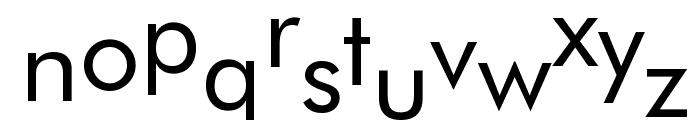 Cool Book Sans Play Regular Font LOWERCASE