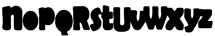 Cool Chaos Font UPPERCASE