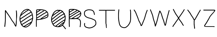 Cool Font UPPERCASE
