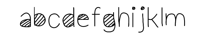 Cool Font LOWERCASE