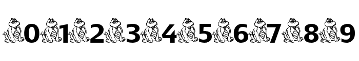 CoolFatCat Font OTHER CHARS