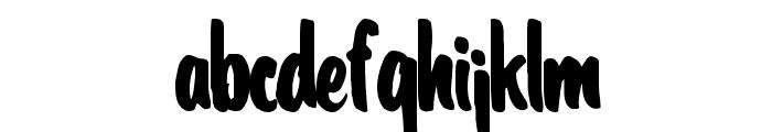 CoolHandLuke Regular ttcon Font LOWERCASE