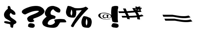 CoolHandLuke Regular ttext Font OTHER CHARS