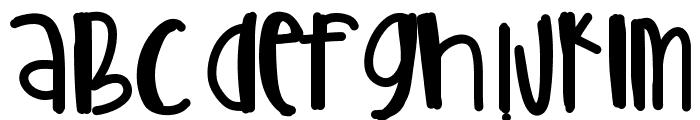 CoolerThanYou Font UPPERCASE