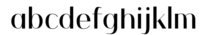 Coolio Font LOWERCASE