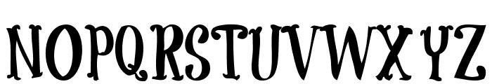 CoolockBlack Font UPPERCASE