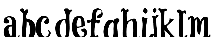 CoolockBlack Font LOWERCASE