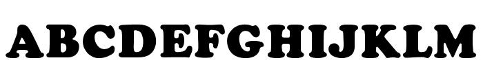 CooperFiveOpti-Black Font UPPERCASE