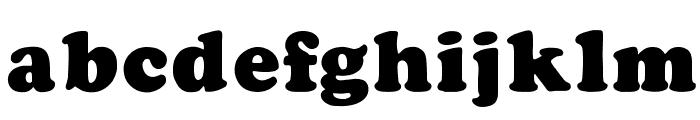 CooperFiveOpti-Black Font LOWERCASE