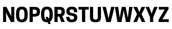 CooperHewitt-Bold Font UPPERCASE